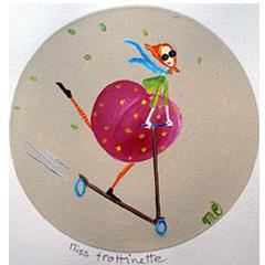 Miss trottinette