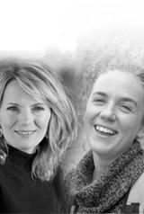 Adeline Gerritsen et Pascale Leportier