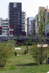 Bienvenue au jardin public 100% écolo