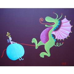 Petite Mélusine et dragon