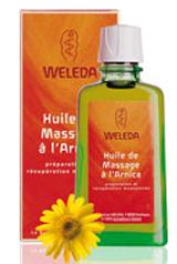 L'huile de massage à l'arnica : de l'or entre vos mains