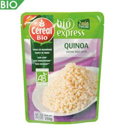 Quinoa à l'ail doux