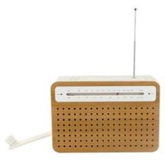 Radio en bambou