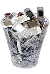 Recyclez vos vieux portables !