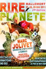 Rire pour la planète Mallemort, 1ère édition du festival