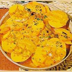 Salade de patates douces à la marocaine