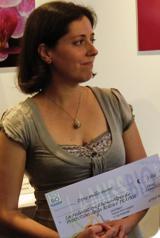 Sandrine Jacoulot, première dauphine de la Miss bio 2011 !