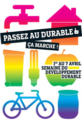 Semaine du développement durable du 1er au 7 avril 2010