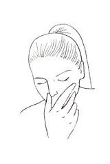 Geste de respiration alternée